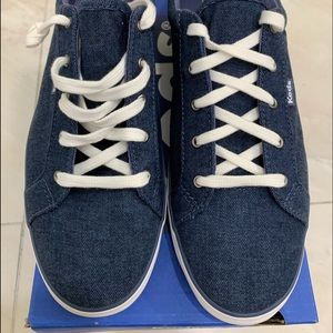 Keds Maven Brush Woven Sneakers In Blue Size 9